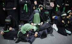 <b>Shiite Muslims around the world today observed Ashura, a religious commemoration of the martyrdom of Hussein, the grandson of the Prophet Muhammad, during the battle for Karbala in in 680 AD.</b> Ashura, which means 10, falls on the 10th day of the sacred month of Muharram. Shiite Muslims often mark the day by wearing black, parading through the streets, and making a pilgrimage to the historical site of Hussein