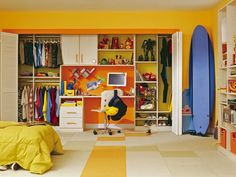 kids room organize