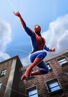Spider-Man by ryodita.deviantart.com on @deviantART