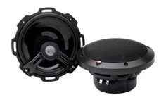 """6.75″ 2-Way Full-Range Speaker The T1675 is a 6.75"""" 2-way full-range speaker rated at 75 Watts RMS designed as a high-powered OEM replacement. Speakers include grills with adapter plates, integrated concealed crossovers and mounting hardware."""