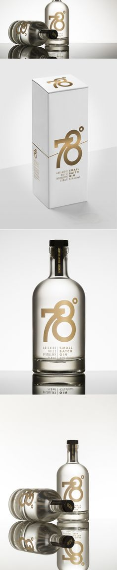 78º Gin — The Dieline | Packaging & Branding Design & Innovation News