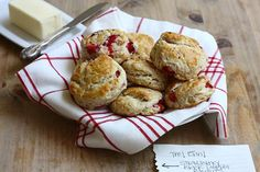 strawberry biscuits      also try Anne Q.'a at food & wine   Strawberry Biscuits with Honey and Crème Fraîche