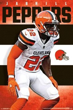Jabrill Peppers Cleveland Browns History, Nfl Officials, Football Helmets, Football Team, Browns