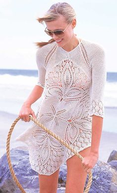 Fun summer knit; Vogue knitting spring summer 2010. Link discusses how to pick a sweater to knit.
