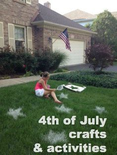 4th of July crafts and activities. Happy birthday, USA!
