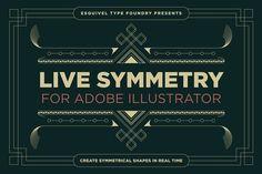 LiveSymmetry for Adobe Illustrator - Patterns
