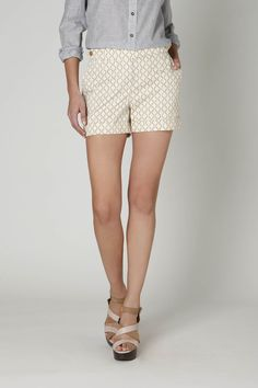 Anthropologie, why do you taunt me with $88 shorts? They are so adorable.