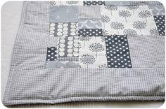 patchwork babydecke nähen   Ich mag Patchwork! Nicht nur weil es schön aussieht sondern weil man ...