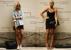 Black skirt: Day and night looks by Angelica Blick