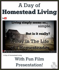 Often you see bloggers glorifying homestead living. I mean... simple living. How hard can it be to live simply? Maybe harder than you may think.