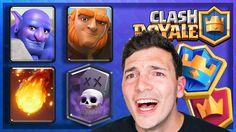 GRAND CHAMPION DECK! 6000 Trophy Push Clash Royale