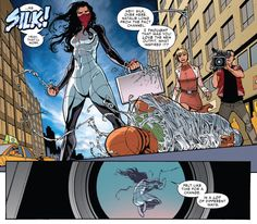 A new costume for Silk in Amazing Spider-Man (vol. 3) #8