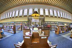 Reading Room, Cambridge University Library