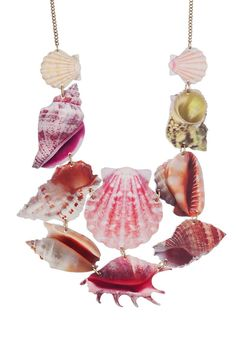 Shell Grotto Statement Necklace
