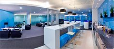 blue office inspiration - Google Search