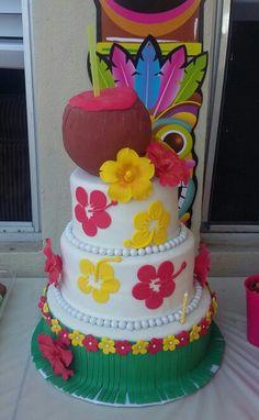 Tucan beachparty servilletas hula Hawaii 20 unidades cumpleaños infantil centro de mesa