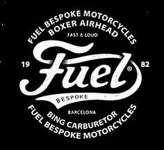 BMD design. Fuel motorcycles logo