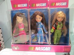 Coming Fall 2015 - Nascar Dolls including Danica Patrick from premiere dollmaker Madame Alexander #dolls