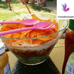 Taco-Salat mit Hackfleisch - ideal zum Grillen