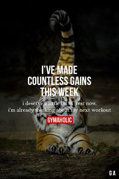 I've Made Countless Gains This Week Workouts -> http://www.gymaholic.co/workouts #fit #fitness #fitblr #fitspo #motivation #gym #gymaholic #workouts #nutrition #supplements #muscles #healthy