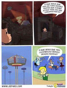 A realidade do futuro d'Os Jetsons.