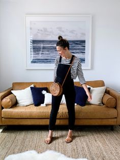 5 Ways to Style a Striped Tee for Spring Fall Winter Outfits, Autumn Winter Fashion, Spring Outfits, Spring Clothes, Fall Fashion, Teacher Outfits, Minimal Chic, Striped Tee, Ideias Fashion