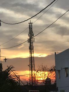 Utility Pole, Sunset, Sunsets, The Sunset
