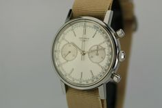 1960 Longines Chronograph Watch For Sale - Mens Vintage Chronograph Iwc, Breitling, Seiko Chrono, Gentleman Watch, Vintage Watches For Men, Stylish Watches, Chronograph, Omega Watch, Rolex