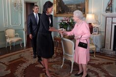 Why Do Americans and Brits Have Different Accents? President Barack Obama and First Lady Michelle Obama are greeted by Britain's Queen Elizabeth at Buckingham Palace in London, April The White House / Pete Souza