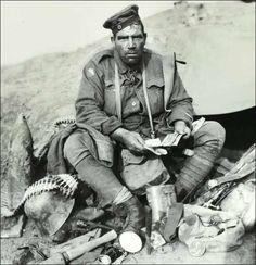 World War One German Soldier