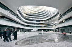 Galaxy Soho / Zaha Hadid Architects, by Hufton + Crow