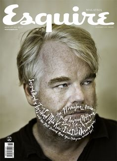Esquire Malaysia November 2012 with Philip Seymour Hoffman