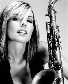 Candy Dulfer (born 19 September is a Dutch smooth jazz alto saxophonist. She started to play saxophone at the age of six. Jazz Artists, Jazz Musicians, Music Artists, Sound Of Music, Kinds Of Music, My Music, Music Stuff, All About Jazz, Jazz Poster