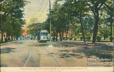 The glory days of the TRANVIAS were featured in these postcards during the turn-of-the-century. In 1881 , the street car was introd. Philippine Art, Cable, Filipiniana, Pinoy, Manila, Filipino, Philippines, Postcards, Spanish