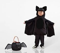 Shop toddler Halloween costumes at Pottery Barn Kids. Find cute and cool Halloween costumes that are easy to put on and comfortable to trick or treat in. Toddler Bat Costume, Bat Halloween Costume, Classic Halloween Costumes, Book Costumes, Girl Costumes, Costume Ideas, Baby First Halloween, Halloween Kids, Happy Halloween