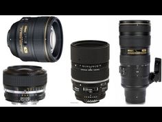 King of BOKEH - 4 great Nikon lenses - YouTube