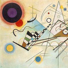 Wassily #Kandinsky - Composition VIII - 1923 - bauhaus-movement.com