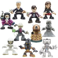 The new Doctor Who Time Squad from Character