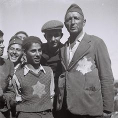 Holocaust survivors arrive in Israel.