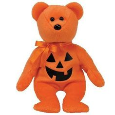 360e8b36cb5 Amazon.com  Ty Beanie Babies Treats - Pumpkin Bear  Toys   Games