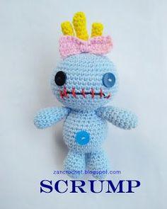 Zan Crochet: Scrump - free crochet pattern by zan Merry