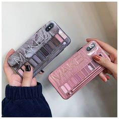 Makeup Eyeshadow Palette phone Case For iphone XS Max XR XS for iphone 6 7 8 plus glossy soft silicone case cover. CompatibleFor iphone 6 7 6 8 iphone X XR XS XS Max. Iphone 8 Plus, Case Iphone 6s, Iphone Phone, Makeup Phone Case, Modelos Iphone, Makeup Eyeshadow Palette, Eye Makeup, Daily Makeup, Pink Makeup