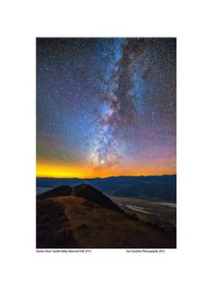 Dantes View at Night with Milky Way by Ron Doebler on 500px