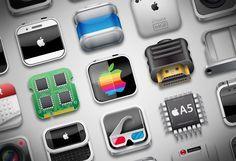 iPhone 4S infographic - by düne - Yoann MADEC solene Sosoa