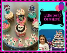 Monsters High cupcakes