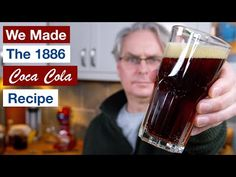 We Made 1886 Coca Cola Recipe. The 1886 Pemberton Coca Cola Recipe. Ever wonder how to make the world's favorite soda pop Coca Cola? Coca Cola, Coke Recipes, Drink Recipes, Veg Wraps, Japan Street Food, Coriander Oil, Nutmeg Oil, Necklaces