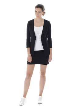 SCHWIING VESTE MACKENZIE NOIR Blazer, Jackets, Women, Fashion, Jacket, Down Jackets, Moda, Women's, Blazers