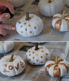 DIY Wedding Pumpkins