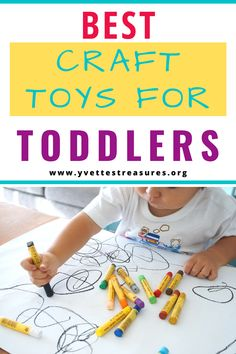 The Best craft toys for toddlers. Art and craft toys for kids to learn and enjoy with friends and family. #crafttoysdiy #crafttoysforkids #artandcrafts #toys #giftguide Modern Kids Toys, Creative Toys For Kids, Kids Toys For Boys, Outdoor Toys For Kids, Unique Gifts For Kids, Best Kids Toys, Kids Gifts, Kids Toy Boxes, Kids Gift Baskets