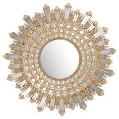 Gold Statement Mirror